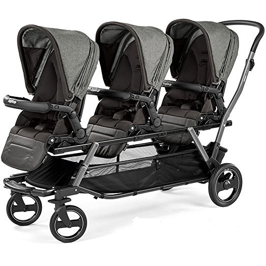 The 4 Best Strollers For Triplets - triplets mum