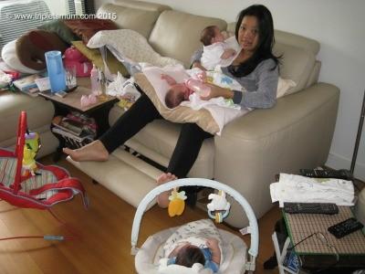 Feeding triplets
