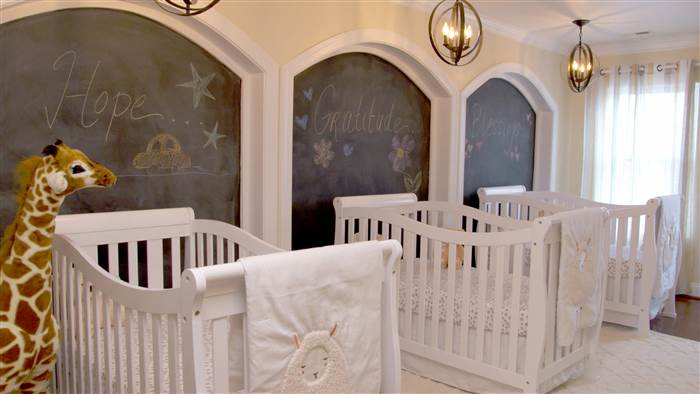 3 Triplets Nursery Design Ideas - triplets mum