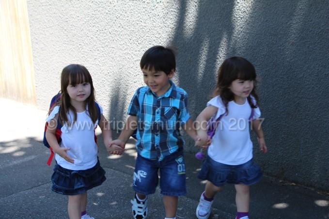 Pre-school Triplets